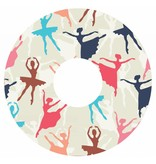 Spoke protector ballet print