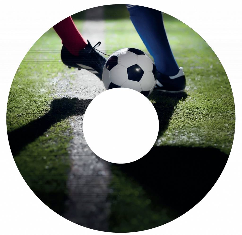 Pegatina protector de radios Fútbol 3