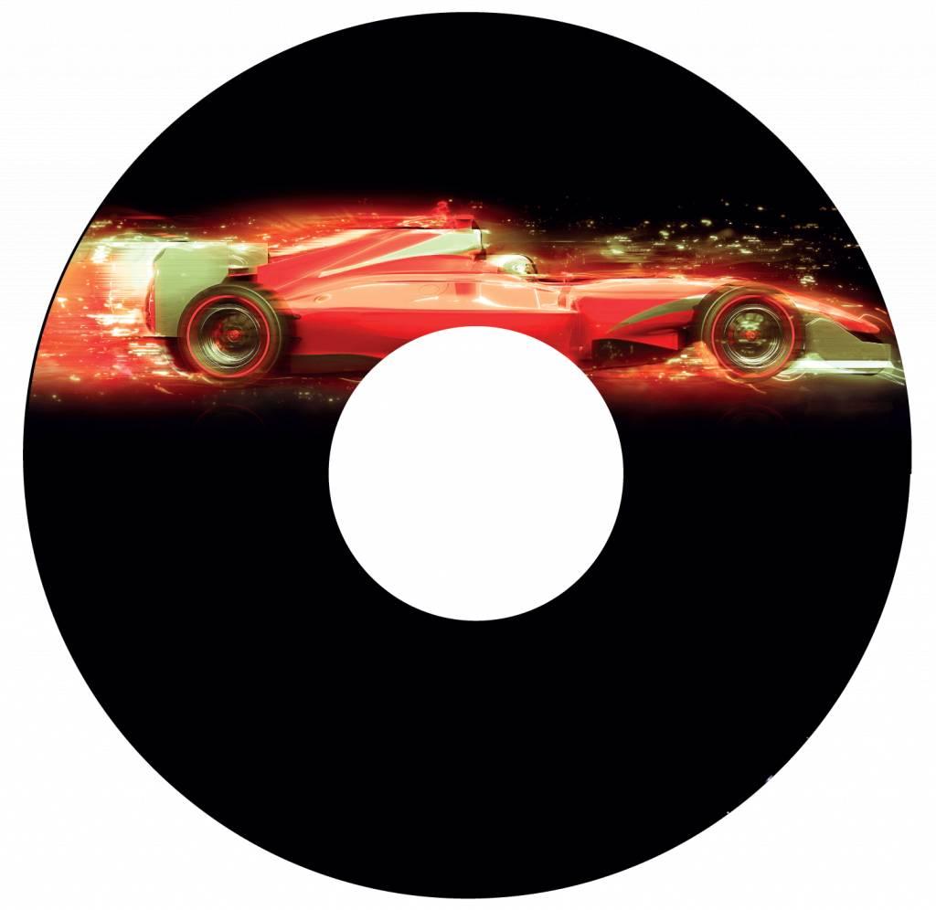 Pegatina protector de radios coche de F1 2