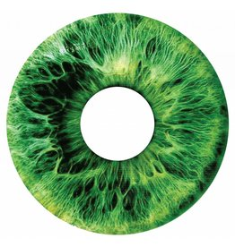 Spoke protector sticker Iris groen