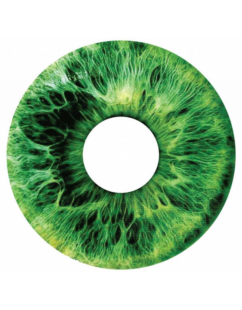 Speichenschutz Sticker Iris grün
