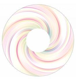 Spaakbeschermer sticker swirl