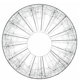 Spaakbeschermer sticker wit en Abstract