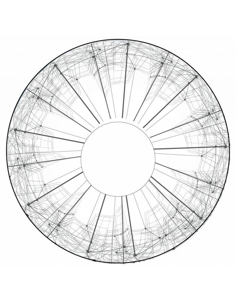 Spaakbeschermer wit en Abstract