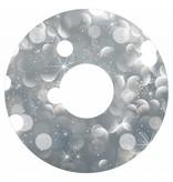 Spoke protector silver glitter