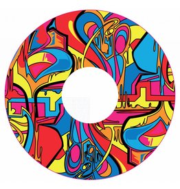 Spaakbeschermer sticker Abstract en kleurvol