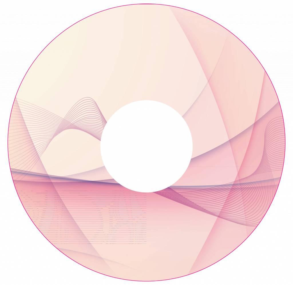 Spaakbeschermer Abstract roze 1