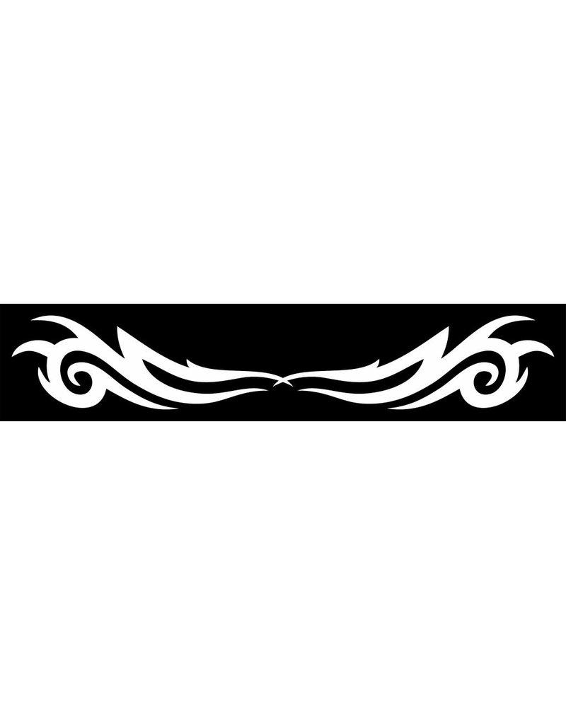 Bandeau pare-soleil voiture tribal mirror