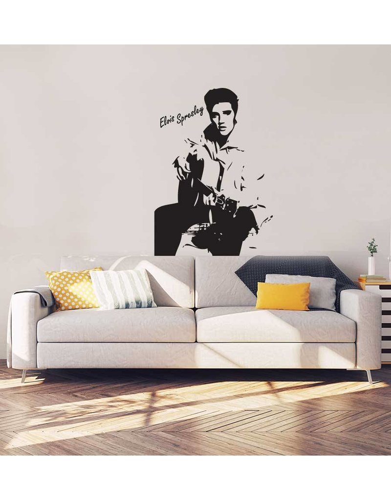 Elvis Presley Interieur Sticker