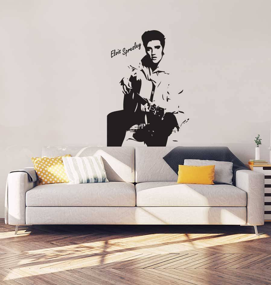 Elvis Presley Interieur Sticker
