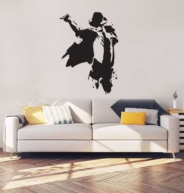 Michael Jackson Interior Sticker