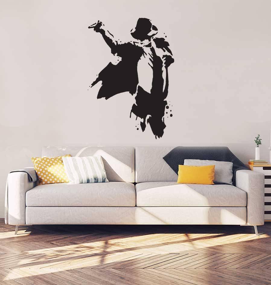 Michael Jackson Interieur Sticker