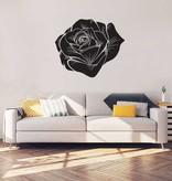 Rose black Interior Sticker