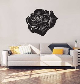 Roos Zwart Interieur Sticker