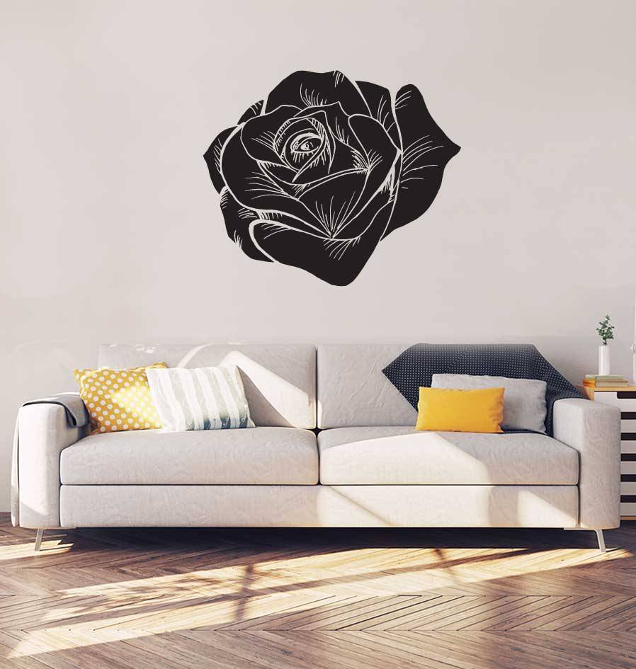 Rosa negro interior