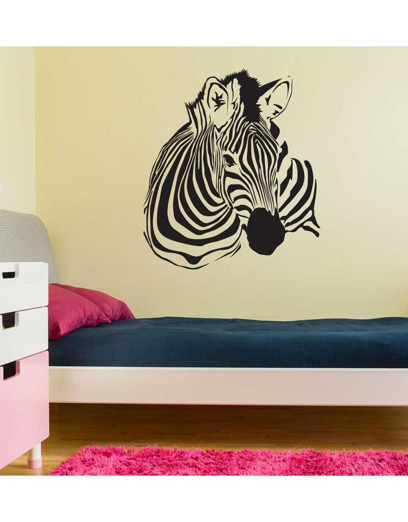 Zebra Interieur Sticker