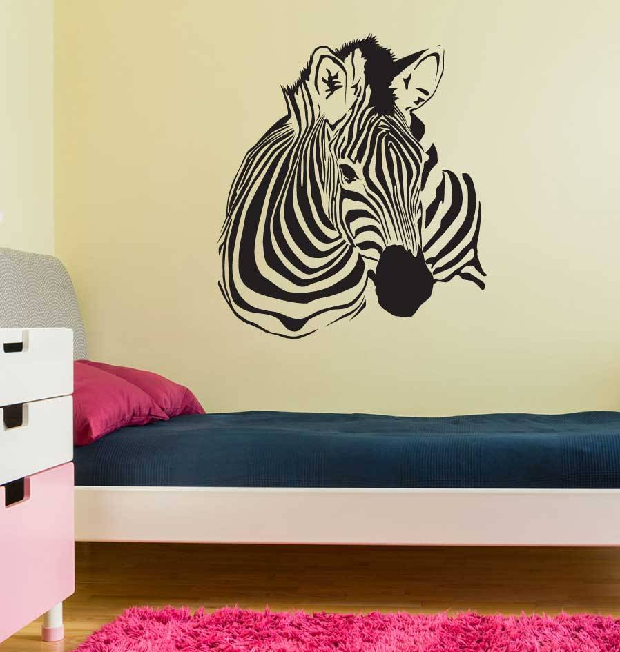 Zebra Inneneinrichtung Aufkleber