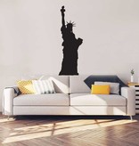 Statue de la Liberté Intérieur Autocollant