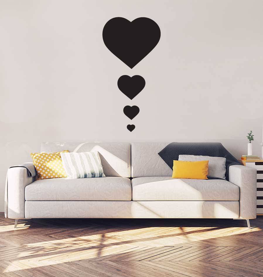 Hearts Interior Sticker