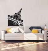 Eiffel tower interior sticker