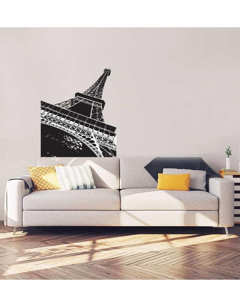 Eiffeltoren Interieur Sticker