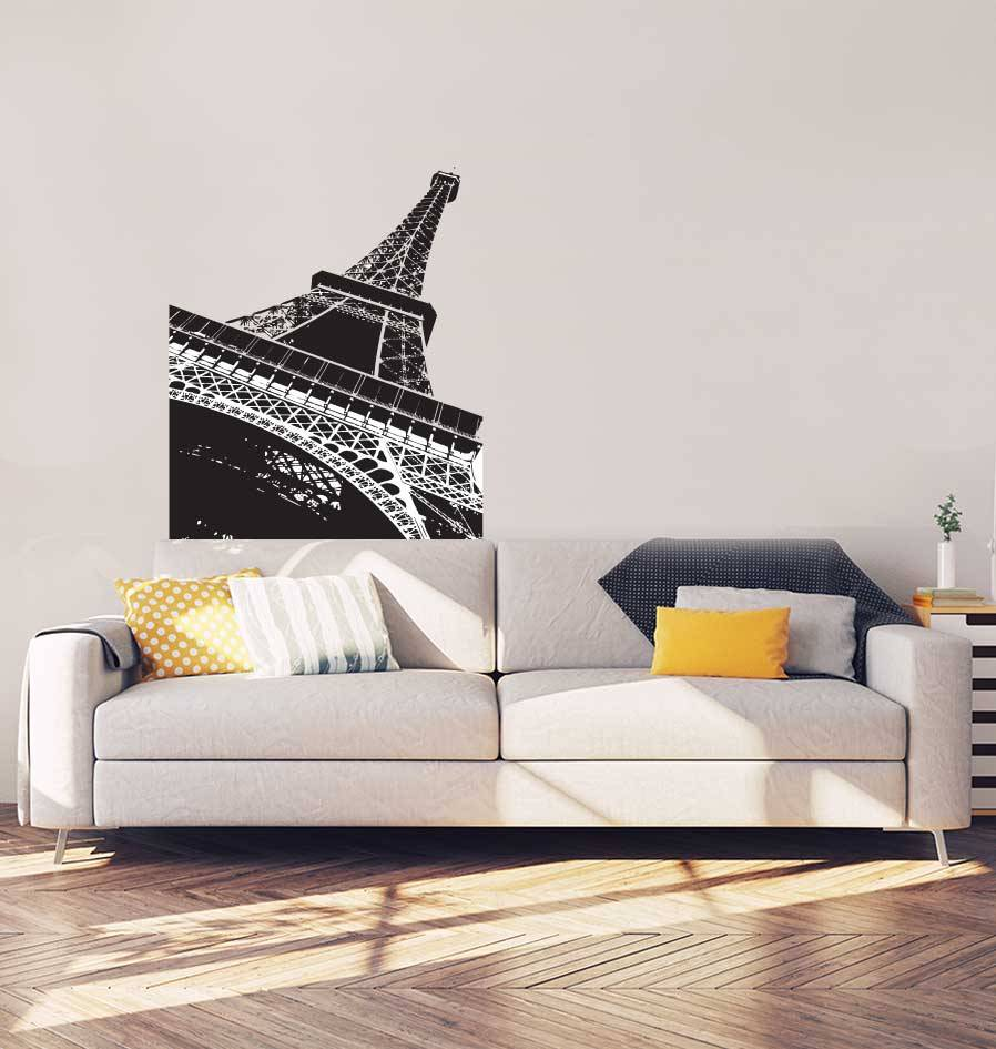 Eiffeltoren Interieur Sticker
