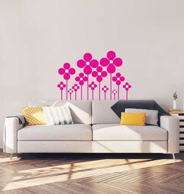 muurstickers woonkamer | gratis & snel thuisbezorgd - dr.sticker, Deco ideeën