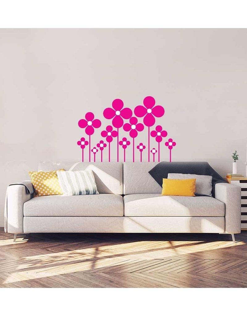 Bloemen Interieur Sticker