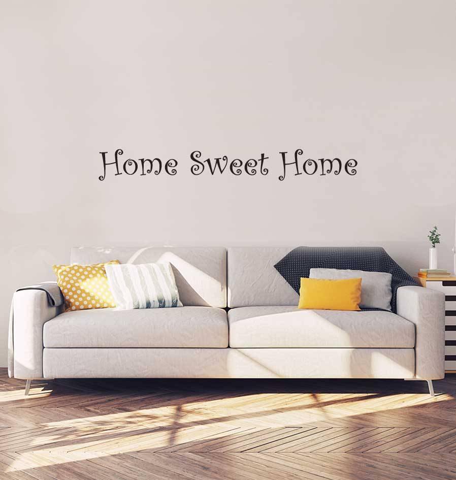 Home Sweet Home Interieur Sticker