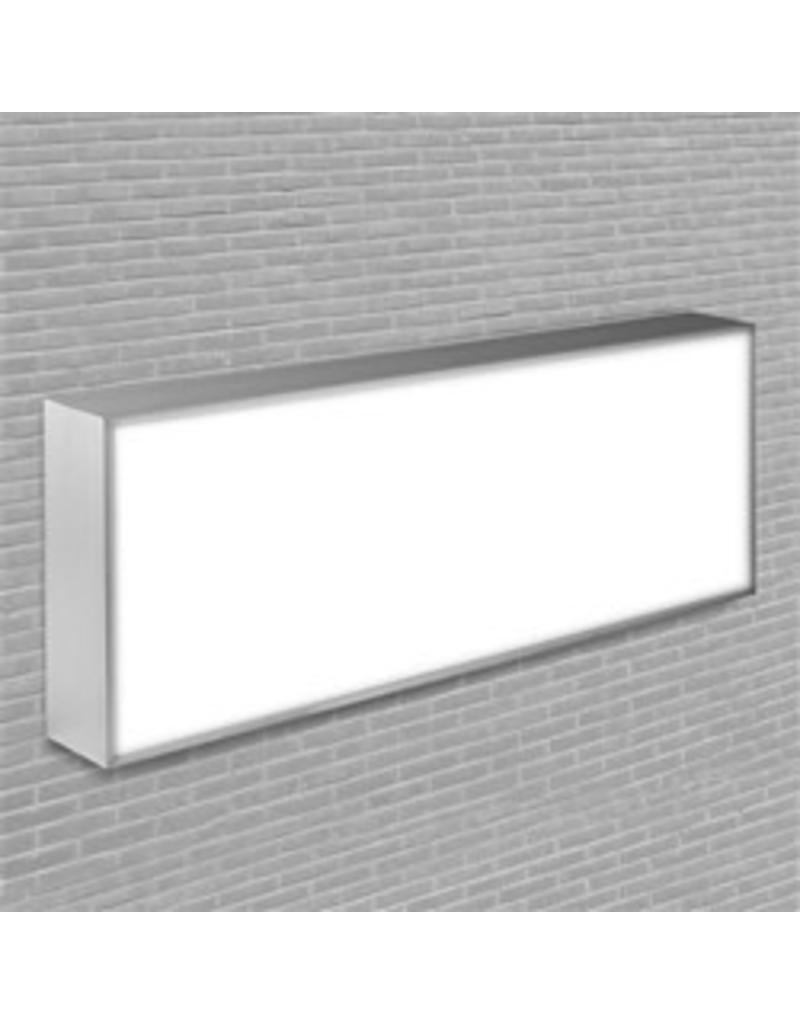Publicité lumineuse à un côté LED