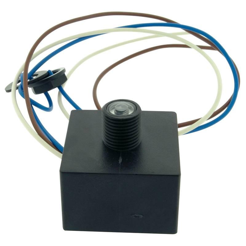 Light box round single-sided