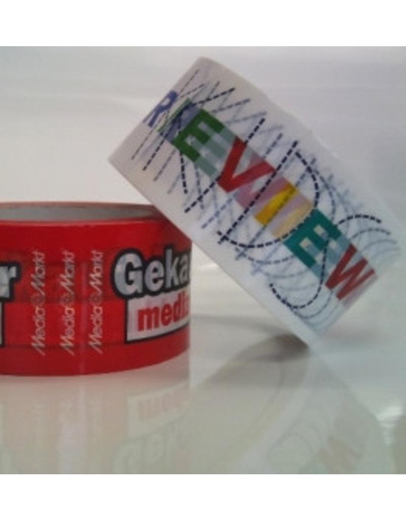 Papier bedrukte tape 50 mm