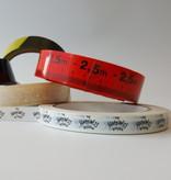 PVC tape bedrukt 19 mm