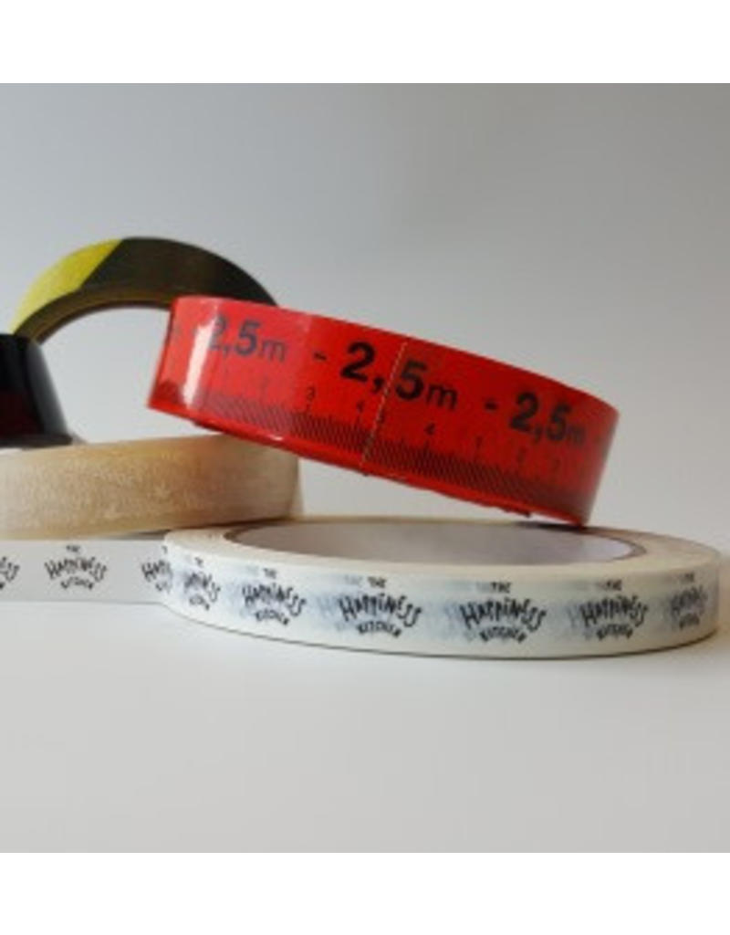 PVC tape bedrukt 25 mm