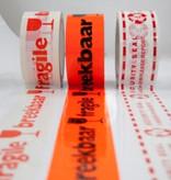 PVC tape bedrukt gekleurd 25 mm