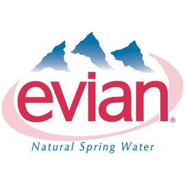 Evian Evian 12 x 1,0 Glas