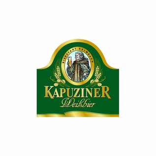 Kapuziner Kapuziner Kristall Bügelflasche 20 x 0,5