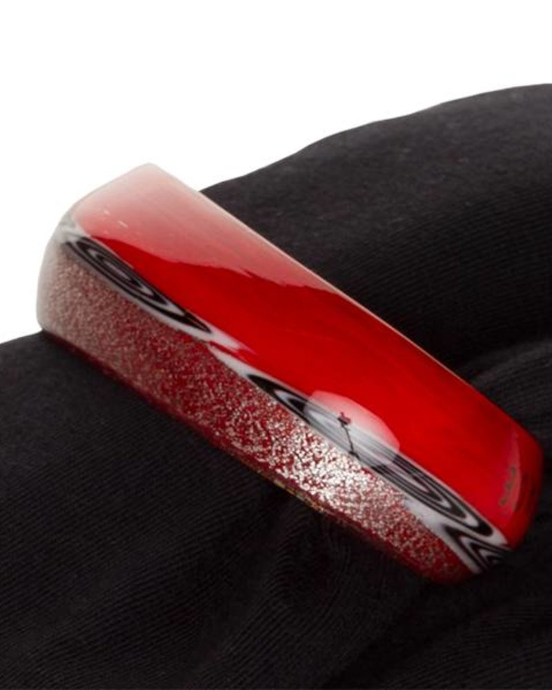 Embracelet - Red Murano Glass Ring