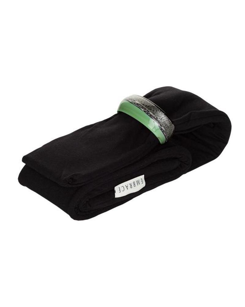 Embracelet schwarz/grün Murano Glass Ring