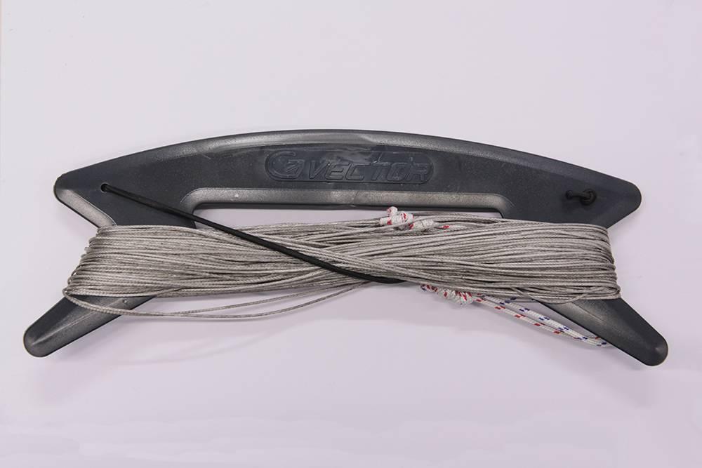 Vector Vector colour kitelines 2x20m 170kg grijs