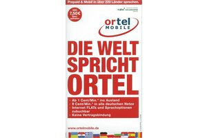 Ortel Mobile Ortel Highspeed Internet Prepaid Karte