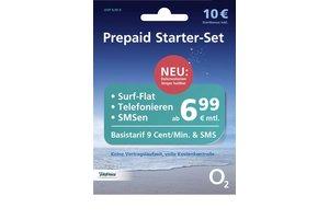 O2 Telefonica Prepaid SIM-Karte o2 Loop inklusive 10 Euro Startbonus