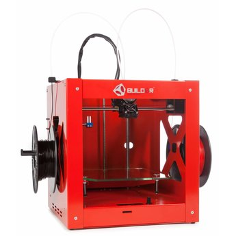3D-printer Builder Dual-Feed Extruder - Rood
