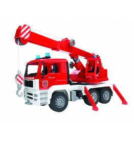 MAN Bruder MAN TGA brandweerauto met licht- en soundmodule