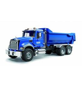 Mack Trucks Bruder Mack Granite halfpipe kiepvrachtwagen