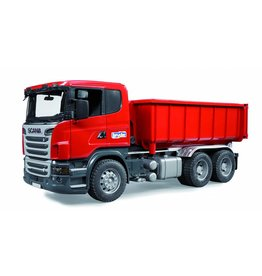 Scania Bruder Scania R-series container vrachtwagen