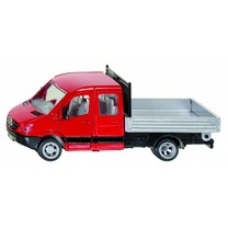 Volkswagen SIKU Volkswagen Transporter met platte laadruimte