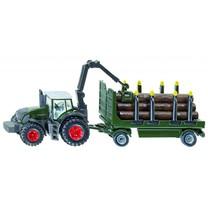 Fendt SIKU Fendt 939 met houttransporter
