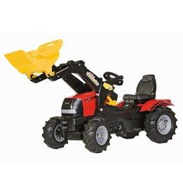 Case Rolly Toys Farmtrac Case Puma CVX 225 traptrekker met voorlader en luchtbanden
