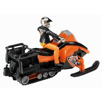 Bruder Moto neige avec conducteur et accessoires 1:16